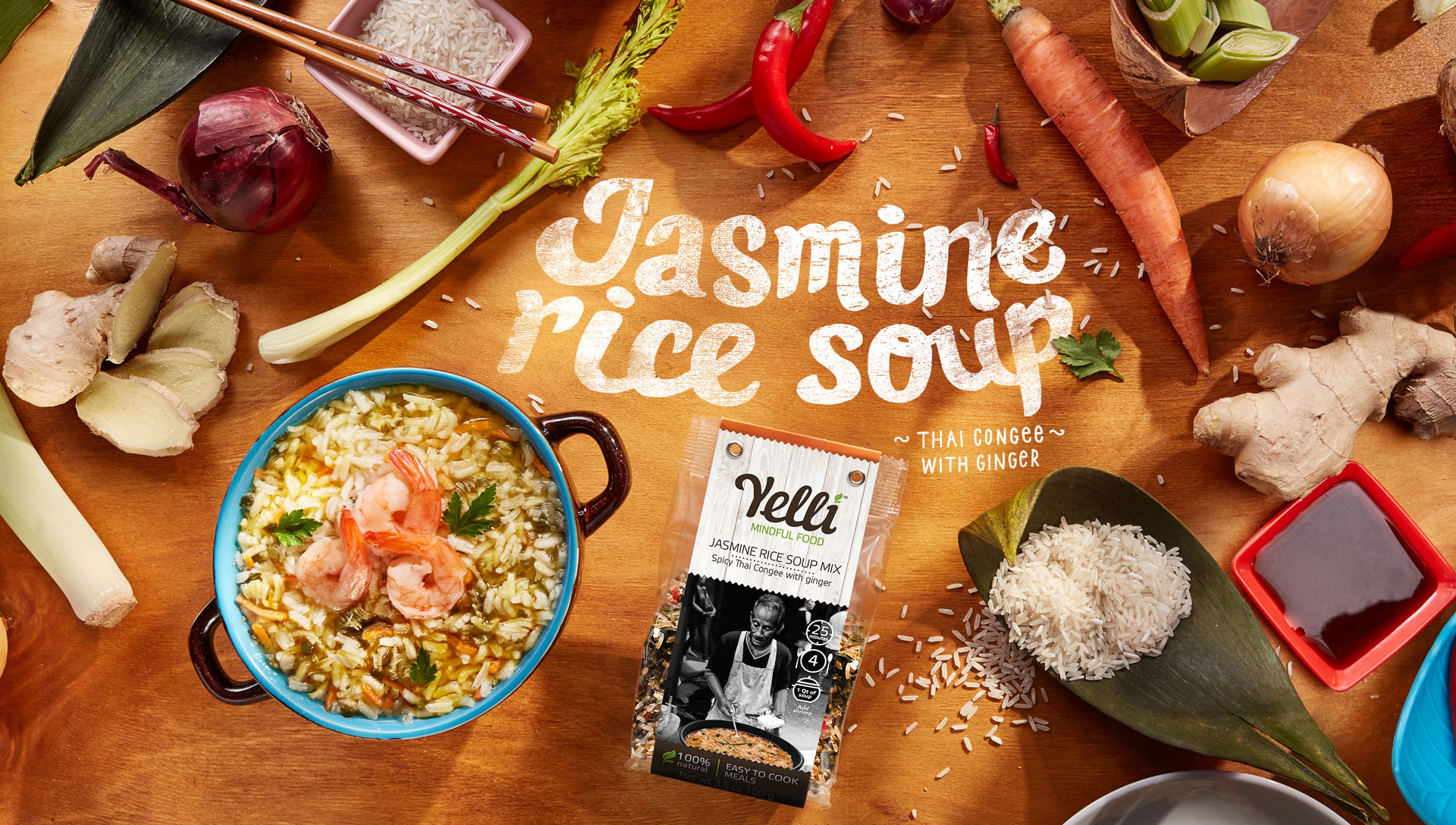 JASMINE RICE SOUP MIX