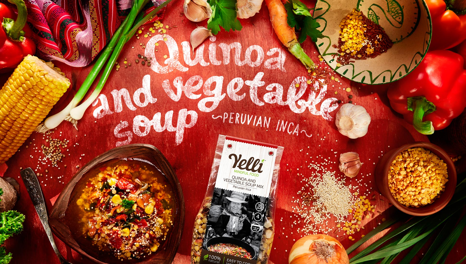 QUINOA AND VEGETABLE SOUP MIX
